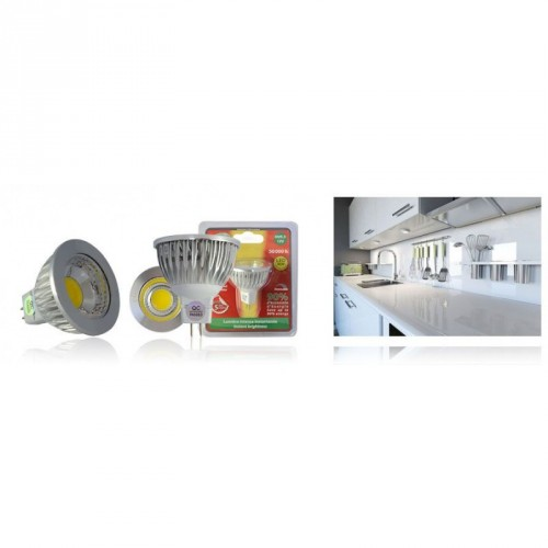 Ampoule à LED dimmable GU5.3 - 4W - Eclairage