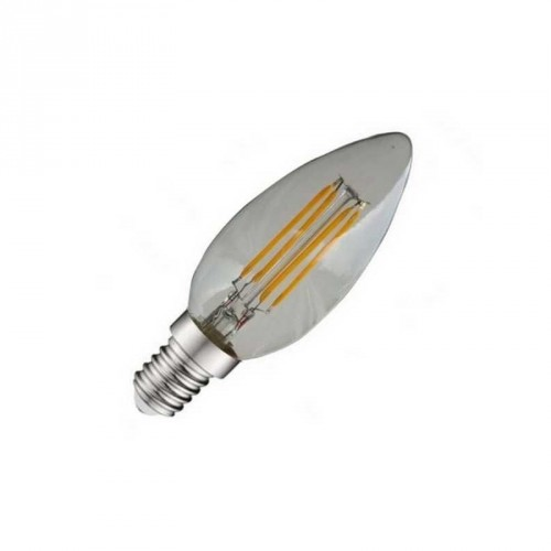 Ampoule à LED flamme à filament E14 - 4W - 4000°K - Eclairage