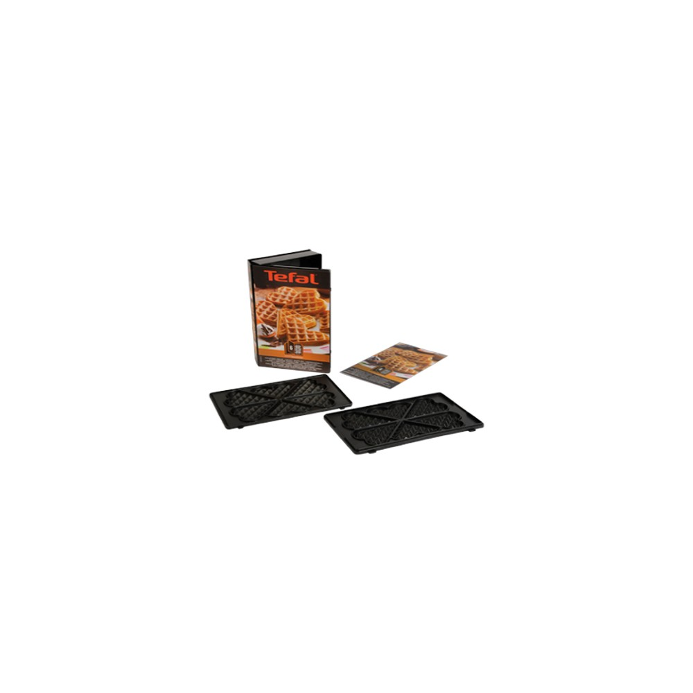 plaque gaufre coeur tefal snack collection snack time. Black Bedroom Furniture Sets. Home Design Ideas