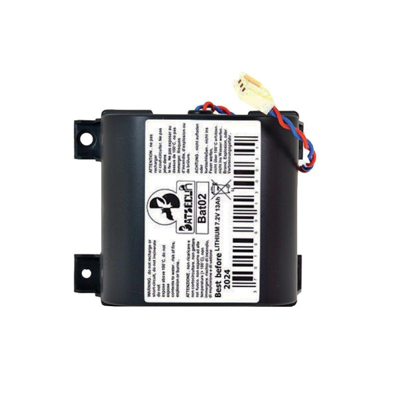 Batterie lithium 7 2v 13ah batli02 alarme m124637 for Alarme domotique maison