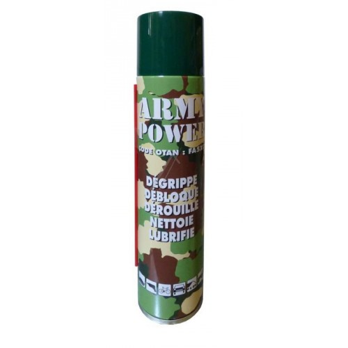 Dégrippant 300ml Power Army