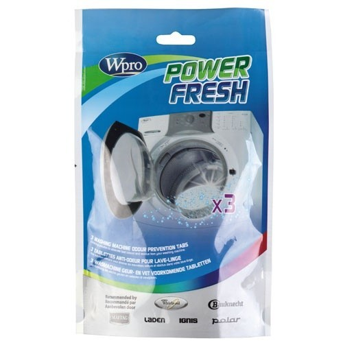 AFR300 - Tablette anti-odeur Wpro PowerFresh - Lave linge