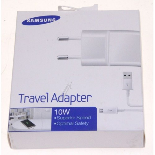 Chargeur secteur micro usb Blanc Samsung - Smartphone