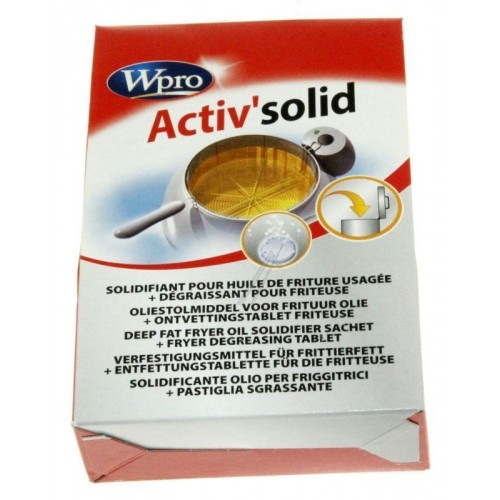 Solidifiant huile de friteuse Wpro Activ'solid